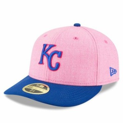 New Era ニュー エラ スポーツ用品  New Era Kansas City Royals Pink/Royal 2018 Mothers Day On-Field Low Profile 59FIFTY Fitted Hat