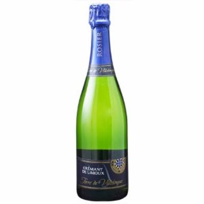 父の日 ギフト スパークリングワイン クレマン・ド・リムー テール・ド・ヴィルロング ブリュット / ロジエ 白 発泡 750ml フランス ラン