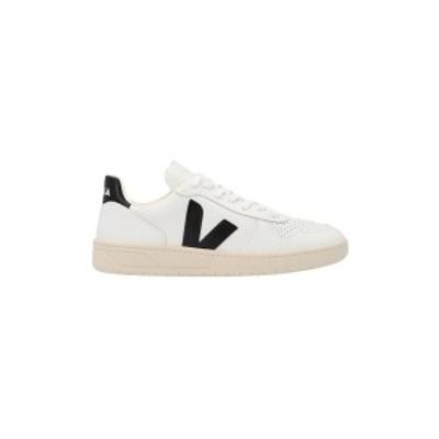 VEJA/ヴェジャ White/Black V-10 sneakers メンズ 春夏2021 VX020005BEXTRAWHITEBLACK ju