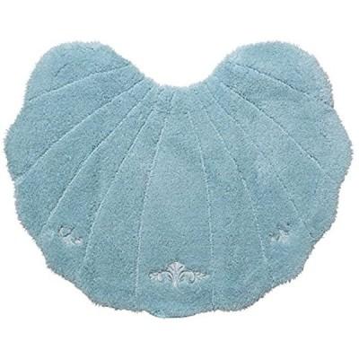 ルソンドラメール トイレマット ブルー 60x75cm(ブルー)