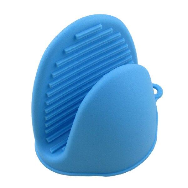 矽膠防燙手套 熱手套 單入 矽膠隔熱手套 矽膠手套 防燙手套 烘焙手套 耐熱手套 耐高溫 防燙防滑 顏色隨機