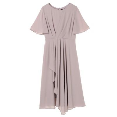 タックロングドレス