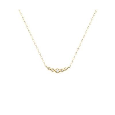 4℃(ヨンドシー) ダイヤモンドK10イエローゴールド(YG) ネックレス 111736123004