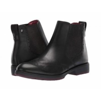 Pikolinos レディース 女性用 シューズ 靴 ブーツ チェルシーブーツ アンクル Caravaca W2U-8656 Black【送料無料】