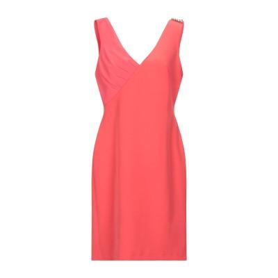 コッカ KOCCA ミニワンピース&ドレス コーラル L ポリエステル 88% / ポリウレタン 12% ミニワンピース&ドレス