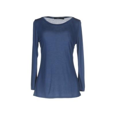 SEVENTY SERGIO TEGON T シャツ ブルー 40 レーヨン 90% / シルク 10% T シャツ
