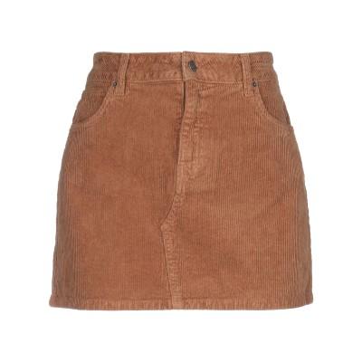 VICOLO ミニスカート ブラウン XS コットン 97% / ポリウレタン 3% ミニスカート