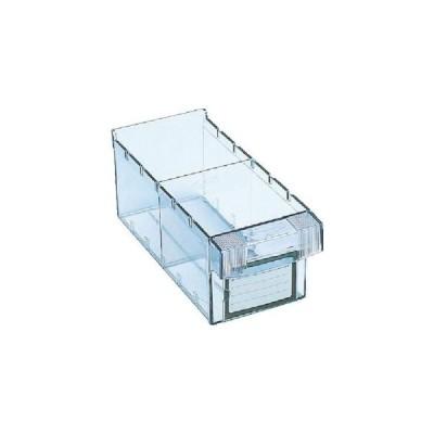 トラスコ 樹脂製引出し 内寸111×264×108 透明 MM-1