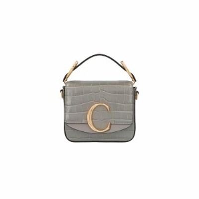 CHLOE/クロエ Grigio 'Chloe C' mini handbag レディース 春夏2021 CHC19US193A87039 ju