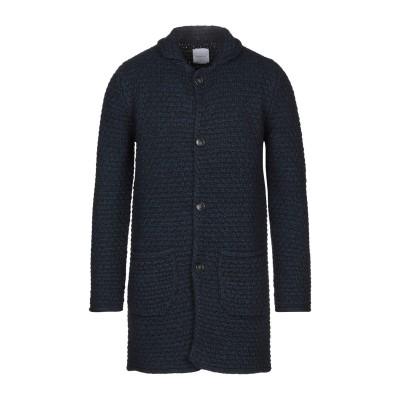 BELLWOOD コート ダークブルー 46 アクリル 60% / 毛(アルパカ) 15% / ウール 15% / レーヨン 10% コート