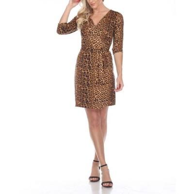 ホワイトマーク レディース ワンピース トップス Women's Mariah Wrap Dress
