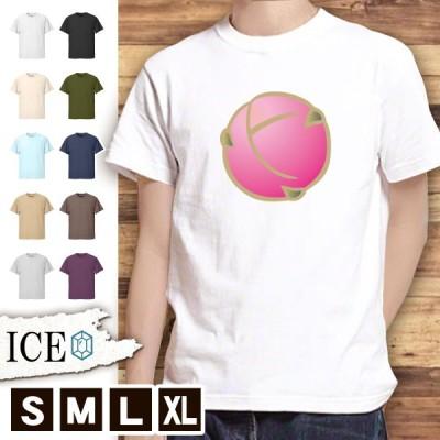 Tシャツ 梅 メンズ レディース かわいい 綿100% ウメ うめ 和柄 大きいサイズ 半袖 xl おもしろ 黒 白 青 ベージュ カーキ ネイビー 紫 カッコイイ 面白い ゆる