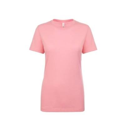 レディース 衣類 トップス Next Level NL3900 - Women's Boyfriend Tee X-Small Light Pink Tシャツ
