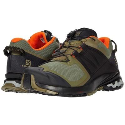 サロモン XA Wild メンズ スニーカー 靴 シューズ Burnt Olive/Black/Exotic Orange