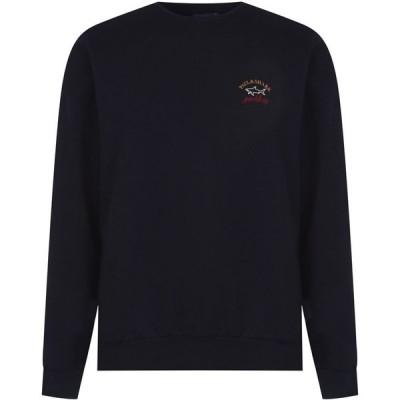 ポールアンドシャーク Paul And Shark Crew メンズ スウェット・トレーナー トップス Basic Sweatshirt Navy