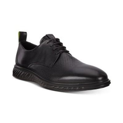 エコー メンズ ドレスシューズ シューズ Men's St.1 Hybrid Lite Modern Tie Oxford Black