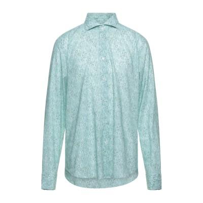 FEDELI シャツ ライトグリーン 45 コットン 95% / ポリウレタン 5% シャツ