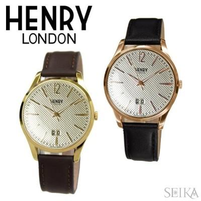 (クリアランス) ヘンリーロンドン HENRY LONDON 時計 41mm レザーHL41-JS-0016 (28) HL41-JS-0038 (29) ウォッチ メンズ