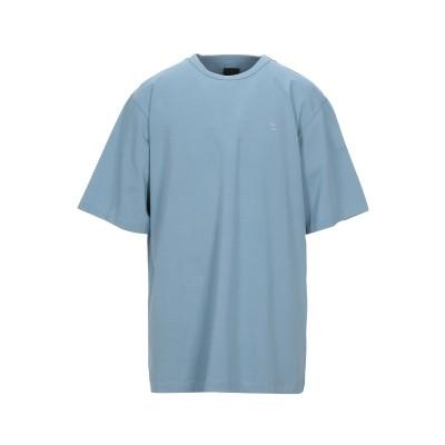 ジュン・ジー JUUN.J T シャツ スカイブルー 46 コットン 100% T シャツ