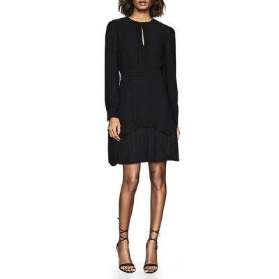 レイス レディース ワンピース トップス Roxy Pleat Soft Dress BLACK