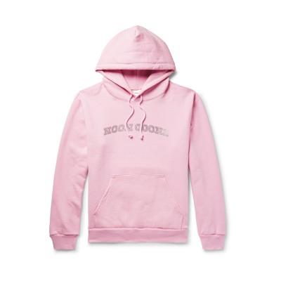NOON GOONS スウェットシャツ ピンク XL コットン 100% スウェットシャツ