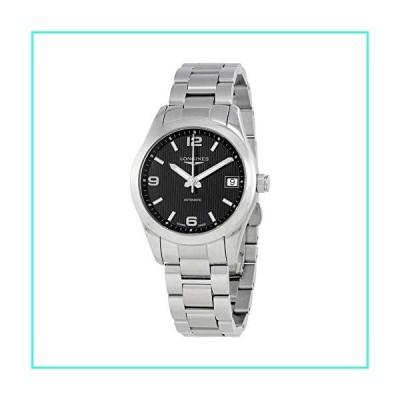 【新品】Longines Conquest Black Dial Automatic Ladies Watch L2.385.4.56.6(並行輸入品)
