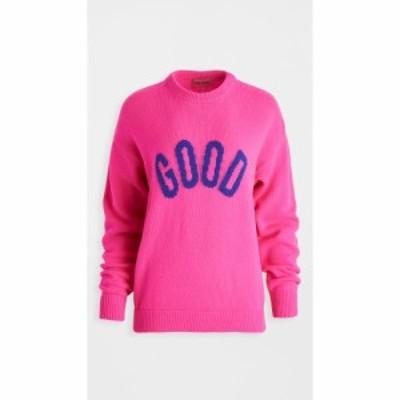 アイリーンイズグッド Ireneisgood レディース ニット・セーター トップス Good Sweater Fuxia