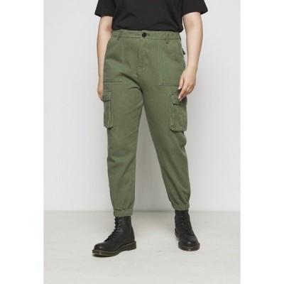 ミスガイデッド カジュアルパンツ レディース ボトムス CARGO - Trousers - khaki