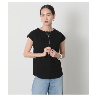 crie conforto / フレンチスリーブクルーPO WOMEN トップス > Tシャツ/カットソー