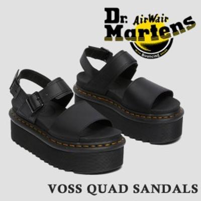 ドクターマーチン 国内正規品 サンダル Dr.Martens レディース VOSS QUAD SANDALS ヴォス クアッド サンダル Dr.Martens 26725001 2021春