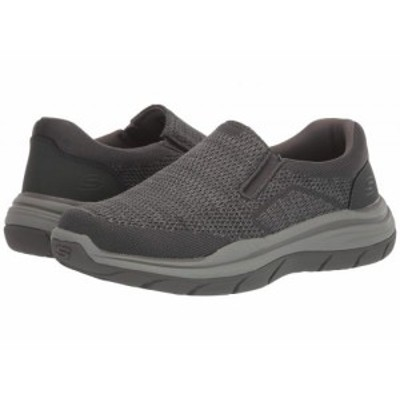 SKECHERS スケッチャーズ メンズ 男性用 シューズ 靴 スニーカー 運動靴 Relaxed Fit Expected 2.0 Arago Grey【送料無料】