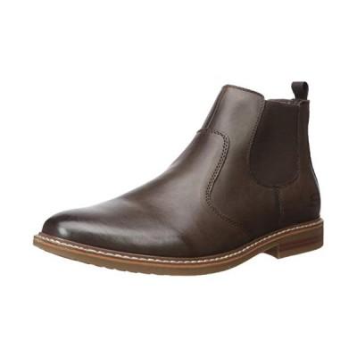 Skechers Men's Bregman-MODESO Street Dress Collection Chelsea Boot, Brown, 12 Medium US【並行輸入品】