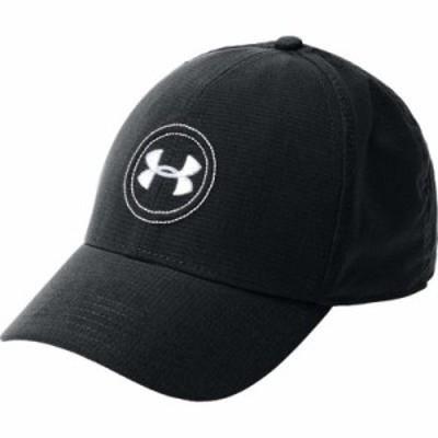 アンダーアーマー その他帽子 Tour Golf Hat Black/White