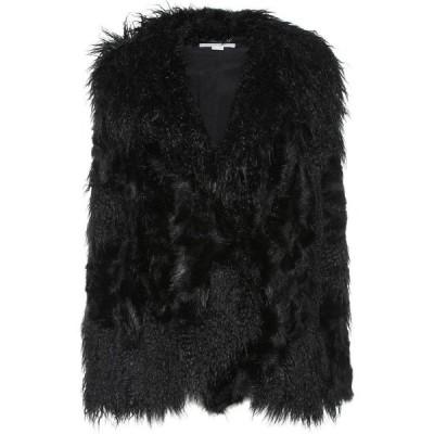 ステラ マッカートニー Stella McCartney レディース ジャケット アウター Faux fur jacket Black