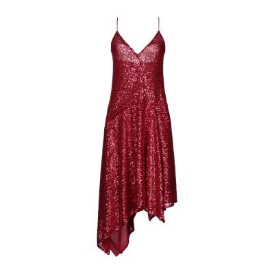 TENAX 7分丈ワンピース・ドレス レッド 40 ナイロン 95% / ナイロン 5% 7分丈ワンピース・ドレス
