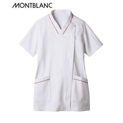 MONTBLANC スクラブ(半袖)(女性用) ナースウェア・白衣・介護ウェア
