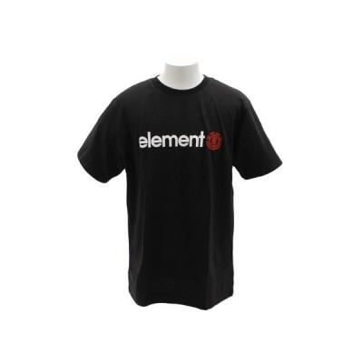 エレメント(ELEMENT) Tシャツ 半袖 HORIZON AJ021210 BLK  (メンズ)