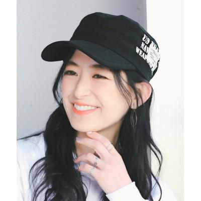 14+(ICHIYON PLUS) / ステンシルワッペンレイルキャップ WOMEN 帽子 > キャップ