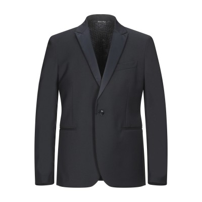 ブライアン デールズ BRIAN DALES テーラードジャケット ブラック 50 ポリエステル 58% / ウール 24% / レーヨン 16%
