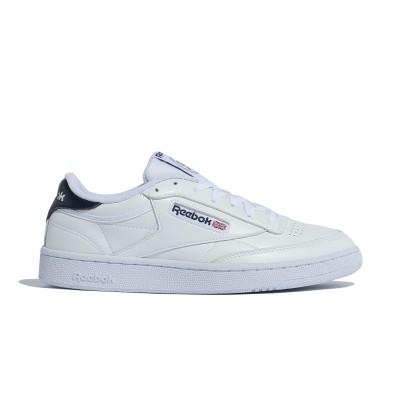 【Reebok公式通販】 クラブ シー / Club C 85 Shoes ホワイト/ベクターネイビー/ゴールドメタリック / リーボック