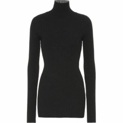 メゾン マルジェラ MM6 Maison Margiela レディース ニット・セーター トップス Turtleneck sweater Black