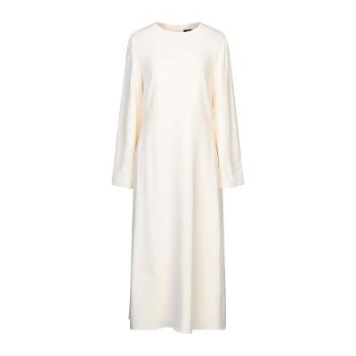 セオリー THEORY 7分丈ワンピース・ドレス アイボリー 2 レーヨン 97% / ポリウレタン 3% 7分丈ワンピース・ドレス