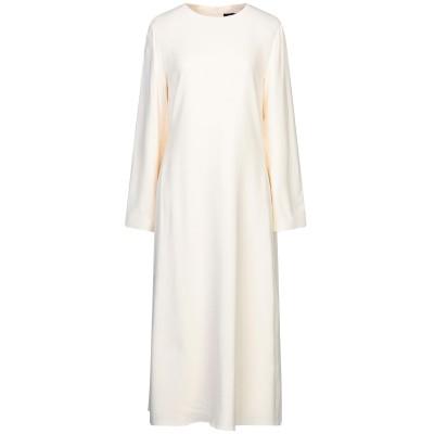セオリー THEORY 7分丈ワンピース・ドレス アイボリー 0 レーヨン 97% / ポリウレタン 3% 7分丈ワンピース・ドレス