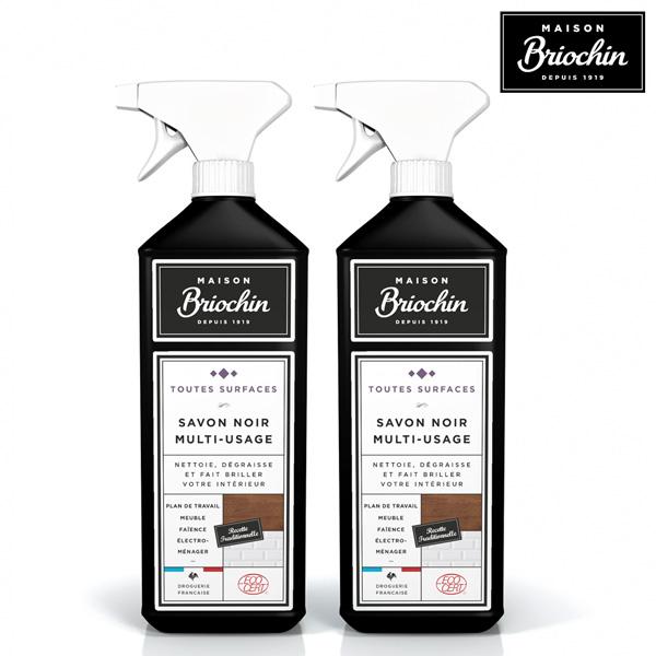 【Maison Briochin 黑牌碧歐馨】多功能黑皂液 750ml 超值2件組