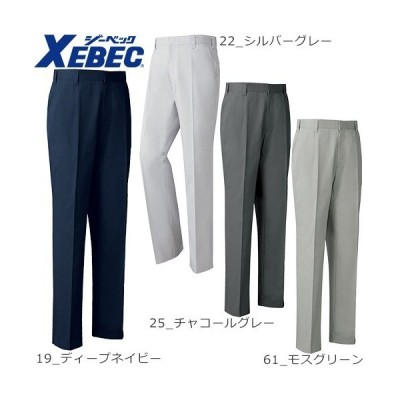 ジーベック XEBEC 1682 ノータックスラックス 通年 秋冬用 メンズ レディース 男女兼用 作業服 作業着 現場服 作業パンツ ズボン