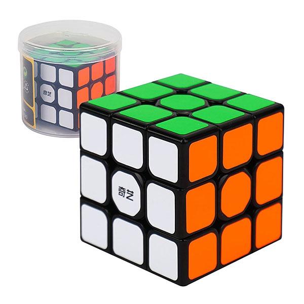 【888便利購】魔方格筒裝三階比賽專用魔術方塊(授權)(筒裝收納)