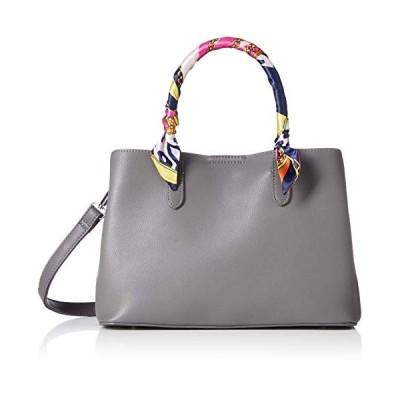 フィオーレ スカーフデザインハンドバッグ 171101 DL171101-G グレー