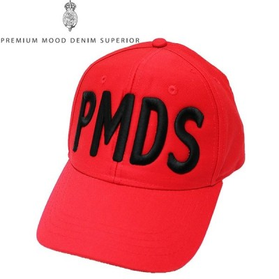 【P.M.D.S.】ピーエムディーエス CAP 帽子 キャップ 刺繍 メンズ カジュアル