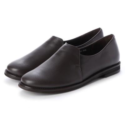クートゥーフォロワーシューズ KuToo Follower Shoes ジェンダーフリースリッポンシューズ (ダークブラウン)