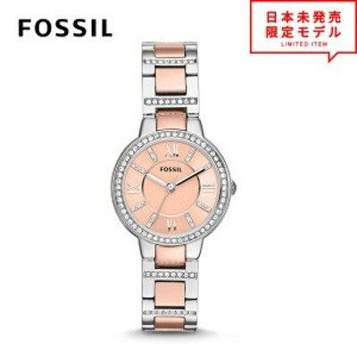 FOSSIL フォッシル レディース 腕時計 リストウォッチ ES3405 ピンク/ローズゴールド 海外限定 時計 日本未発売 当店1年保証 最安値挑戦